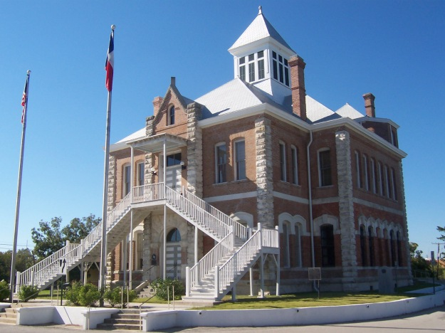 Grimes County Courthouse, Anderson, Texas